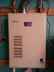 Tankless Water Heater Installation Davis