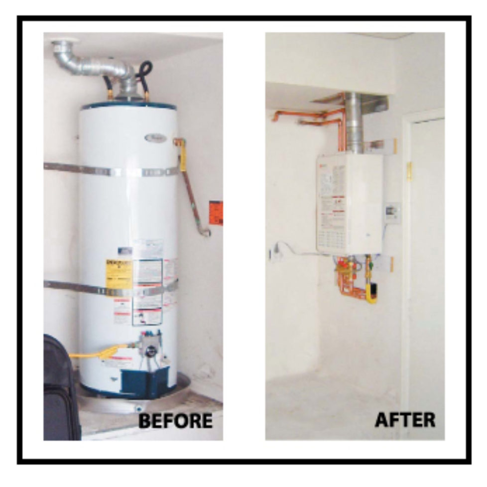 Correct installation of tankless water heater archives for Super insulated water heater