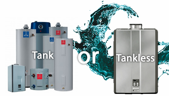 traditional water heater vs tankless water heater which one is