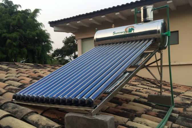 Solar Swimming Pool Heater Panel PE Sun Energy Water Heating Adjustable Height