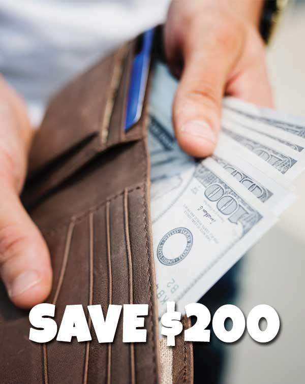 save$200